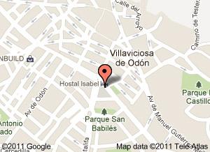 Mapa Villaviciosa De Odon.Direccion De Academia Donfer De Refuerzo Escolar En